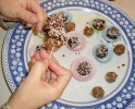 Truffles and Coconut Buckeyes
