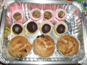Superfood Rich Truffles, Buckeyes and Muffins
