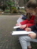 Children Sketching