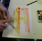 Dripping Watercolour