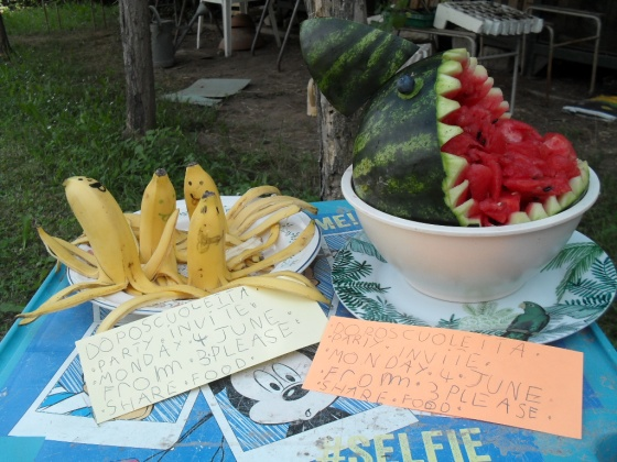 Banana Octopuses and Water Melon Shark