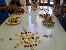 Fruit Mandalas