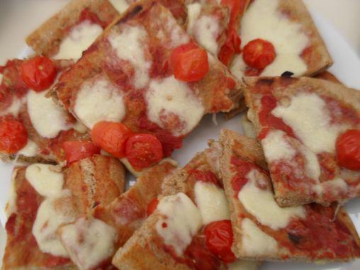 Pizza with Mozzarella
