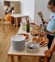 Serving Pizzas