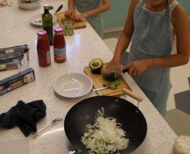 Preparing Pasta Sauces