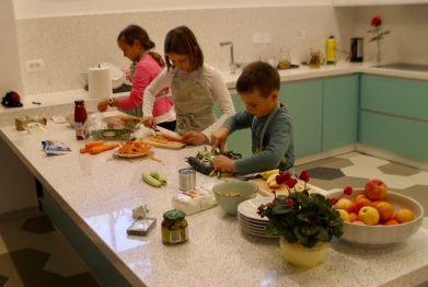 Vegetable Chopping