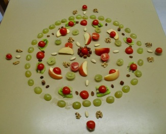 Autumn Fruit Mandala