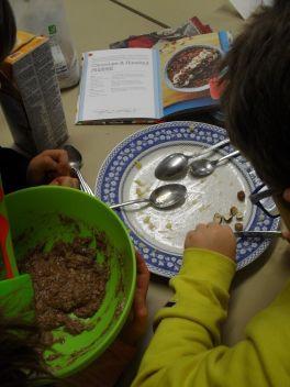 Chopping Hazelnuts