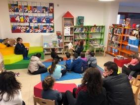 Reading in Reana del Rojale
