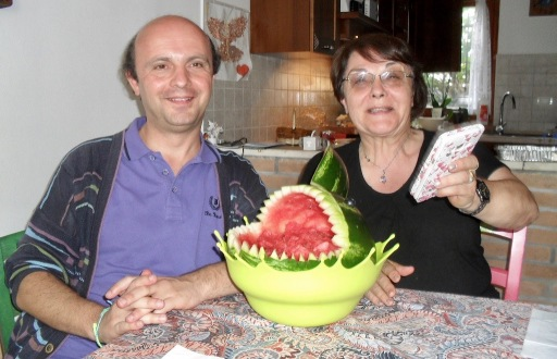 Chiaretta, Davide and the Watermelon Shark