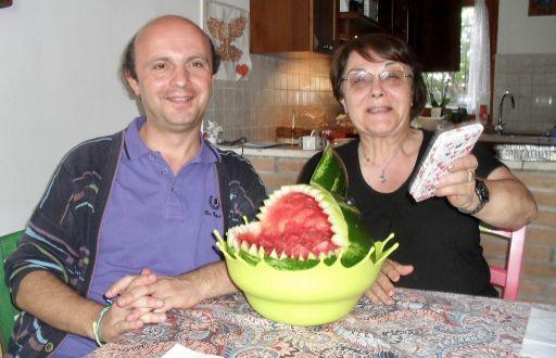 Chiaretta, Davide and the Watermelon Shark